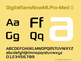 DigitalSansNowMLPro-Med