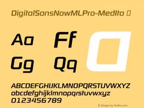 DigitalSansNowMLPro-MedIta