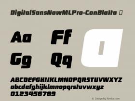 DigitalSansNowMLPro-ConBlaIta