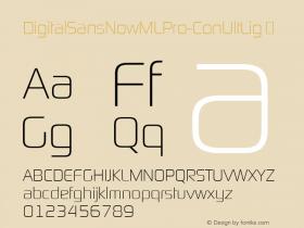 DigitalSansNowMLPro-ConUltLig
