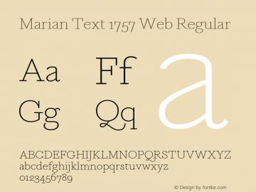 Marian Text 1757 Web