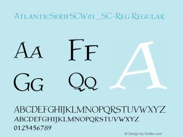 AtlanticSerifSC_SC-Reg