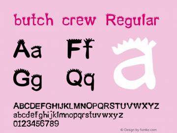 butch crew