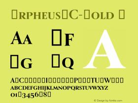 OrpheusSC-Bold