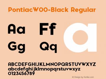 Pontiac-Black