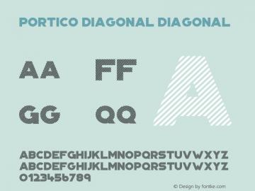 Portico Diagonal