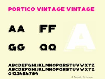 Portico Vintage