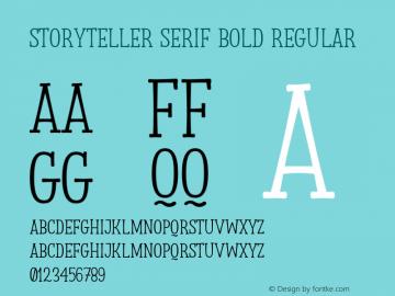 Storyteller Serif Bold