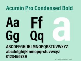 Acumin Pro Condensed