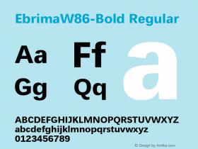 Ebrima-Bold