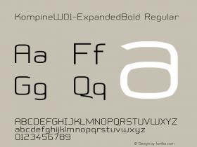 Kompine-ExpandedBold