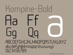 Kompine-Bold