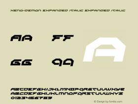 Xeno-Demon Expanded Italic