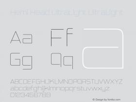 Hemi Head UltraLight