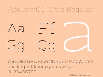 Abula-Thin