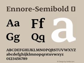 Ennore-Semibold