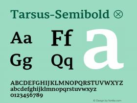 Tarsus-Semibold