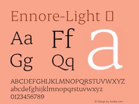 Ennore-Light