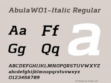 Abula-Italic