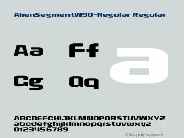 AlienSegment-Regular