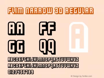 Flim Narrow 3d
