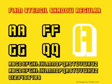 Flim Stencil Shadow