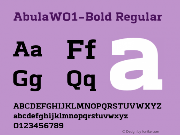 Abula-Bold