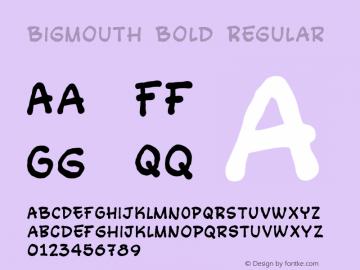 Bigmouth Bold