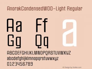 AnorakCondensed-Light