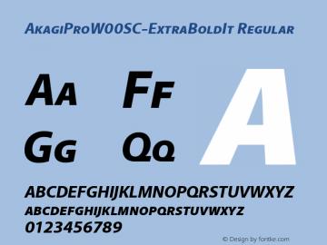 AkagiProSC-ExtraBoldIt