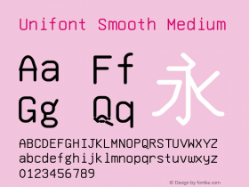 Unifont Smooth