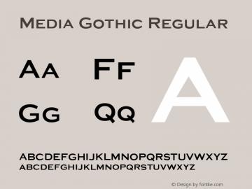 Media Gothic
