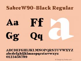 Sabre-Black