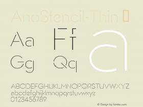 AnoStencil-Thin