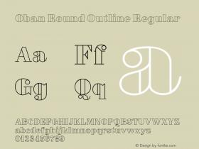 Oban Round Outline