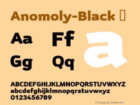 Anomoly-Black