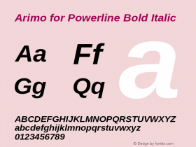Arimo for Powerline