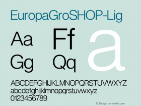 EuropaGroSHOP-Lig