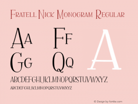 Fratell0Nick Monogram