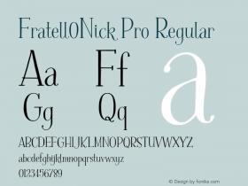 Fratell0Nick Pro