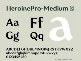 HeroinePro-Medium
