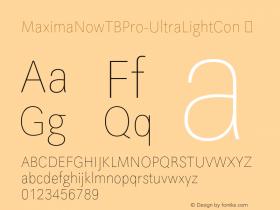 MaximaNowTBPro-UltraLightCon