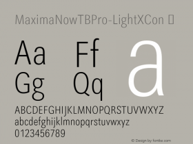 MaximaNowTBPro-LightXCon