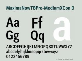 MaximaNowTBPro-MediumXCon