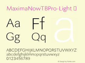 MaximaNowTBPro-Light