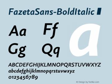 FazetaSans-BoldItalic