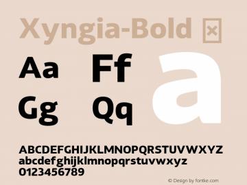 Xyngia-Bold
