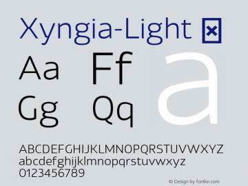 Xyngia-Light