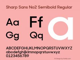 Sharp Sans No2 Semibold