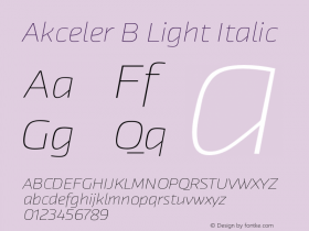 Akceler B Light